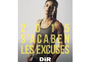 La cadena de gimnasios DiR lanzó la campaña «2015: Se terminan las excusas»