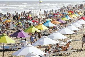 El 47% de los turistas en la costa atlántica bonaerense es sedentario