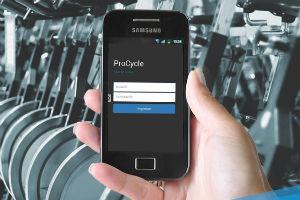 El estudio de cliclismo ProCycle presentó su aplicación móvil para socios