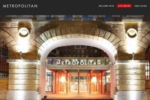 Metropolitan lidera el ranking de webs de gimnasios
