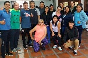 Se lanzó en Jujuy la Escuela de Instructores de Gimnasios