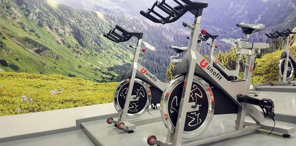 El gimnasio Palo Blanco de Neuquén renovó su sala de cycling