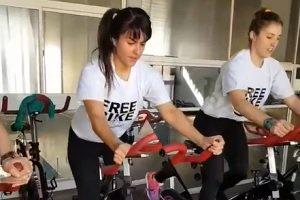 El gimnasio Free Time lanzó una nueva clase de ciclismo