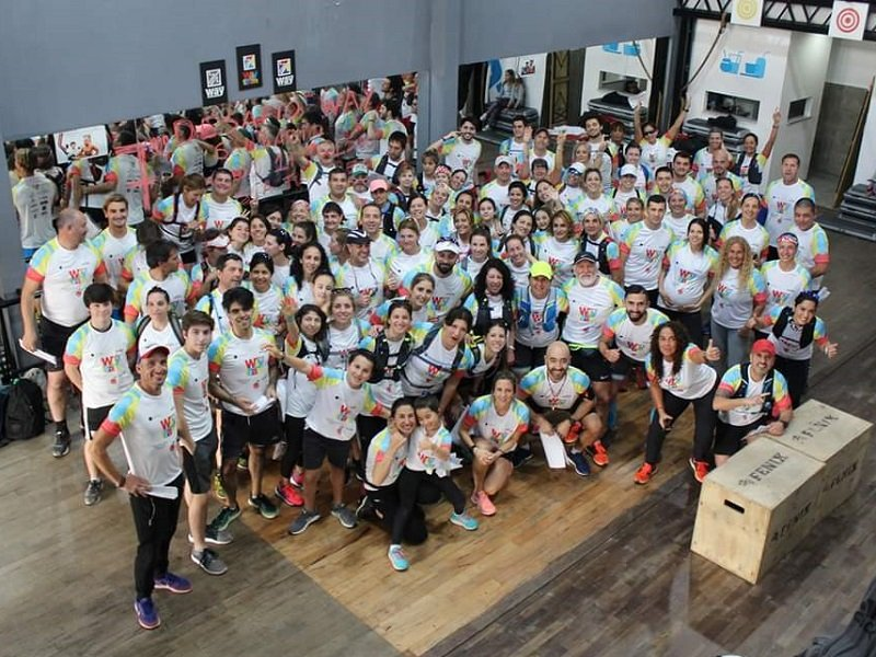 El gimnasio Quilmes Way realizó su séptimo Desafío Solidario