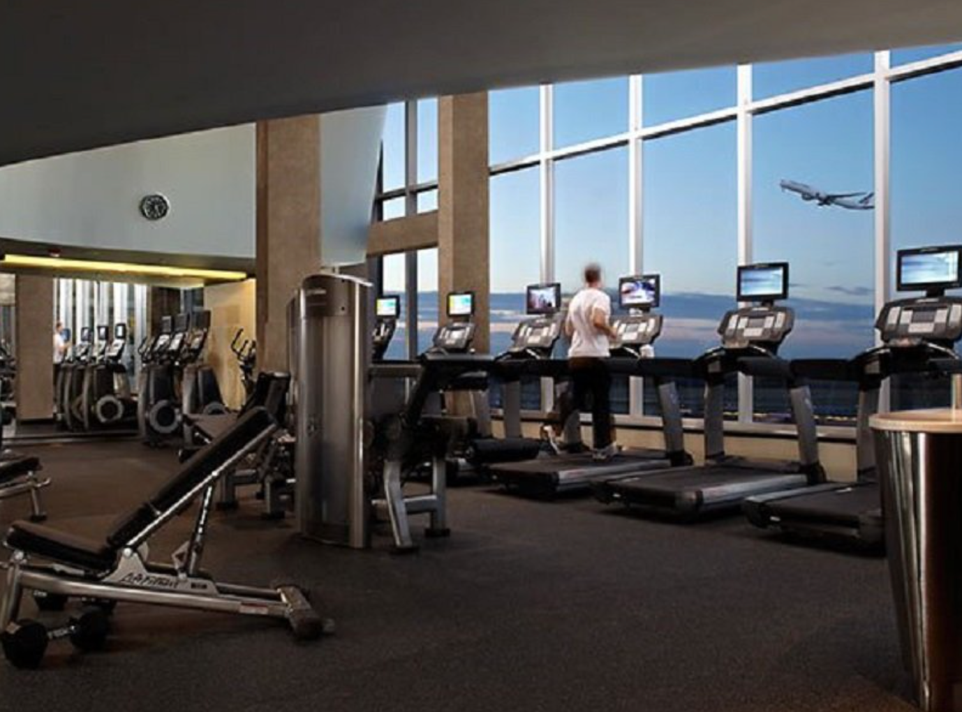 En 2020, el aeropuerto de Madrid tendrá su propio gimnasio