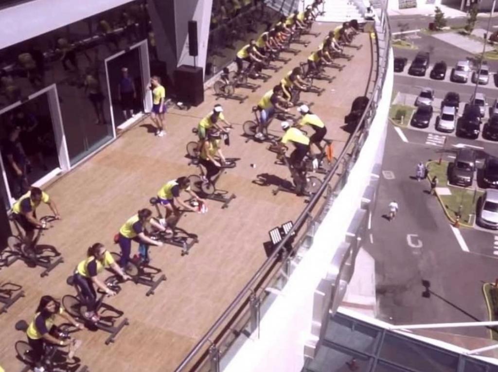 Cia Athlética realizará una clase de cycling en las alturas