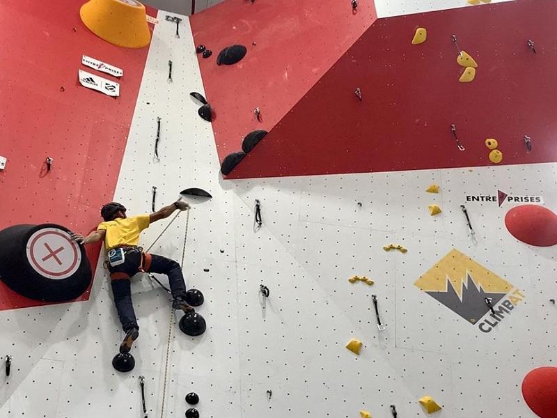 Climbat inauguró un centro de escalada indoor en Madrid