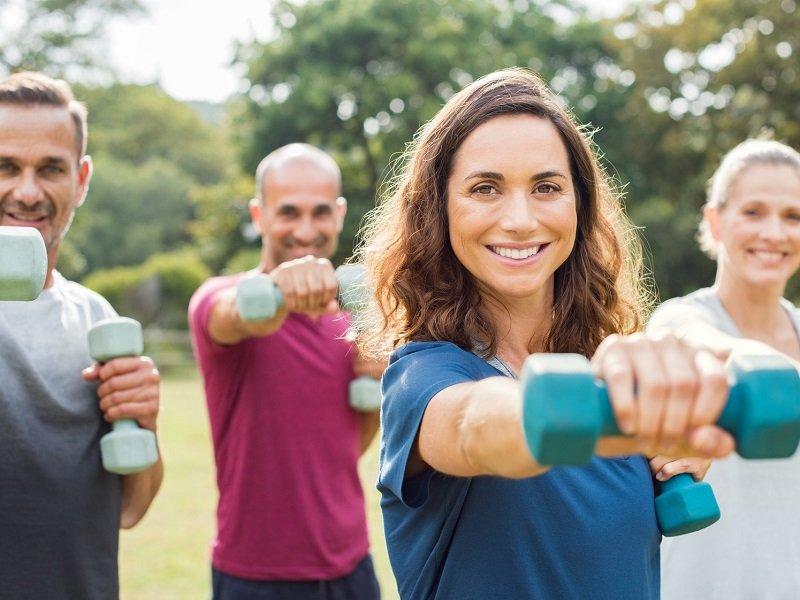 En Estados Unidos, los hombres están más satisfechos al entrenar que las mujeres