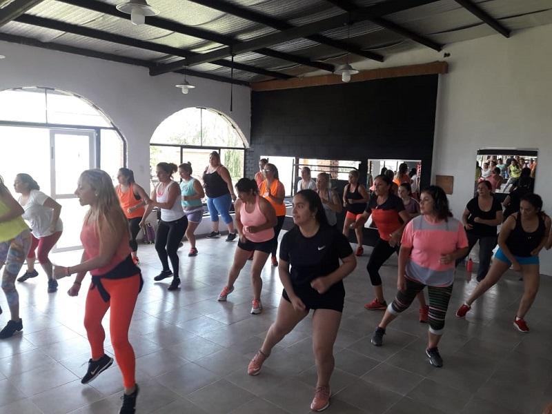Inauguró el gimnasio Vida Fitness en General Pico