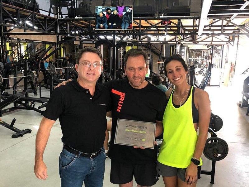 Movement otorgó un reconocimiento a Aires Fitness Center