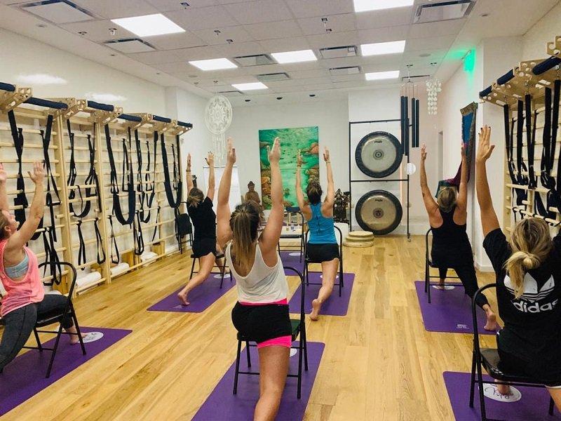 Se inauguró el centro Kali Yoga en Pilar