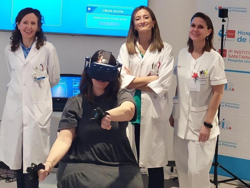 Aplican realidad virtual para rehabilitar personas con esclerosis múltiple