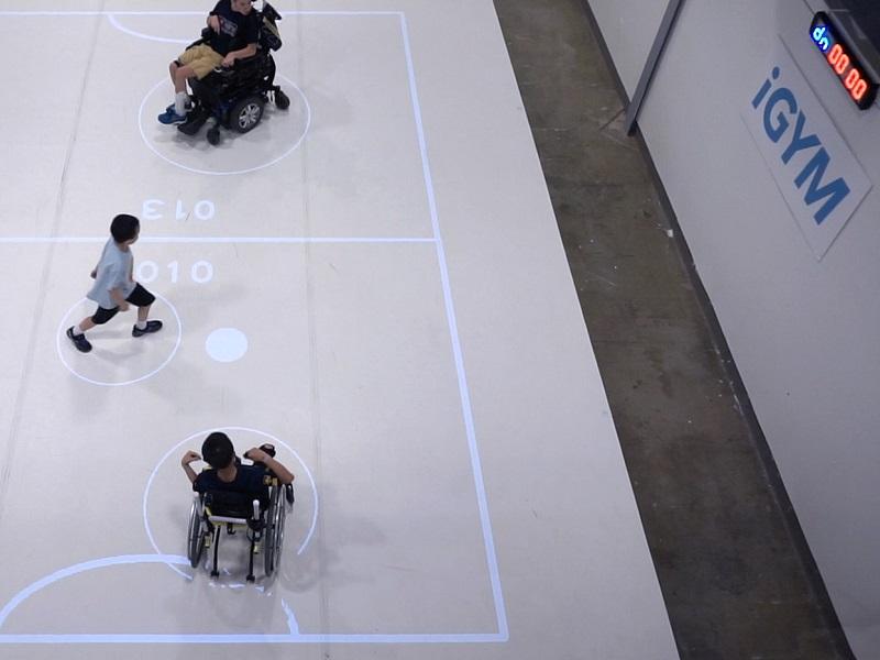 Desarrollan iGYM, un sistema de realidad aumentada para deportes inclusivos