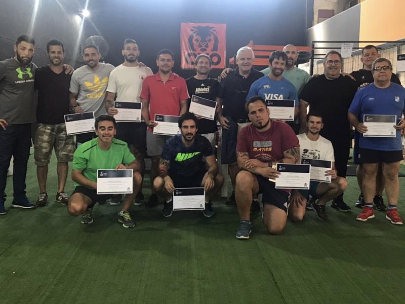 OVO Adrogué realizó un seminario para deportes de alto rendimiento