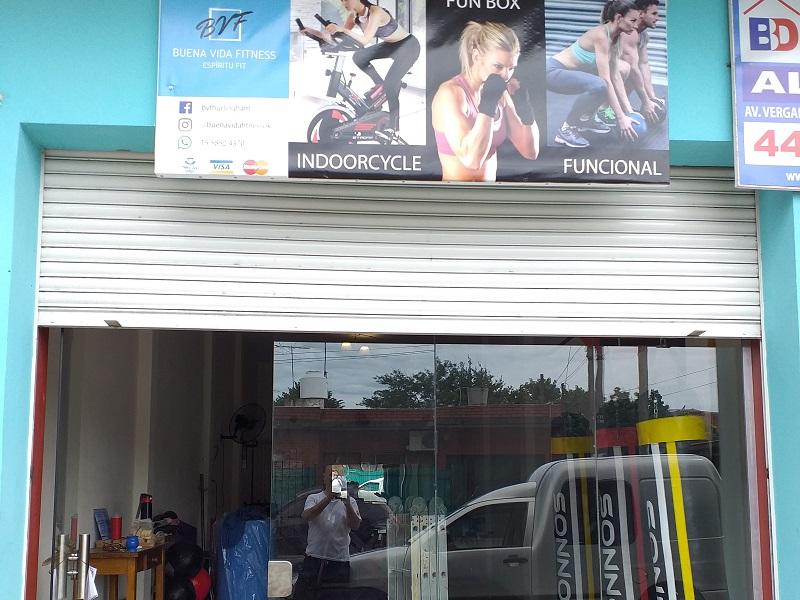 El gimnasio Buena Vida Fitness abrió sus puertas en Villa Tesei