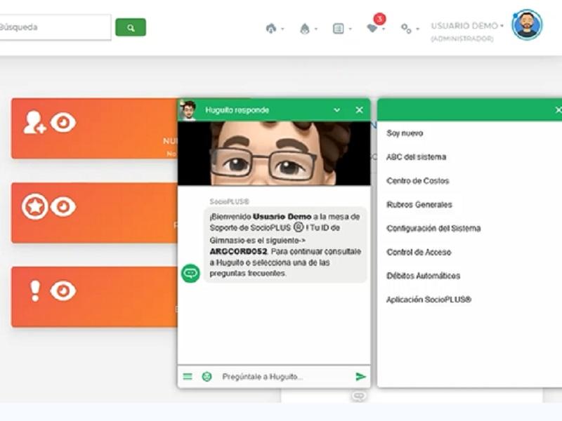 SocioPLUS sumó un chatbot que brinda asistencia las 24 horas