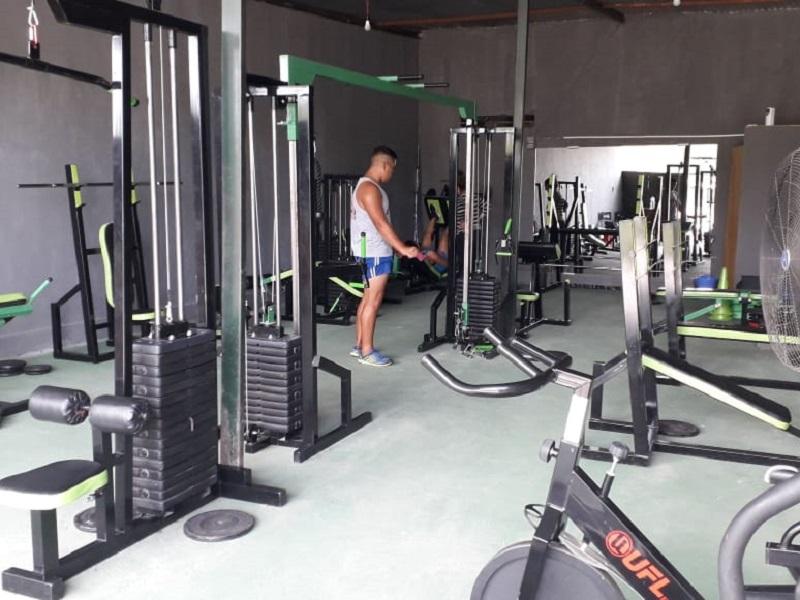 Ubuntu Fitness abrió el mes pasado en Termas de Río Hondo
