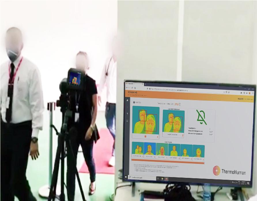ThermoHuman lanza en España una nueva solución para control de temperatura de los usuarios