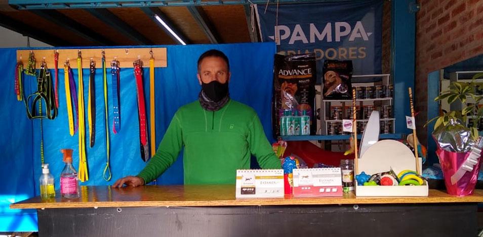 En Bahía Blanca, Vital Gym se reconvirtió en un forraje
