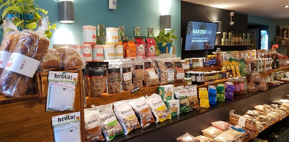 En Palermo, Narziso Fitness & Fit Food montó una tienda de alimentos saludables