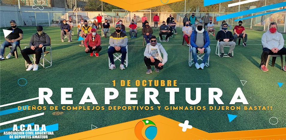 En el sur del Conurbano, gimnasios y canchas de fútbol 5 dicen que abrirán el 1 de octubre con o sin habilitación