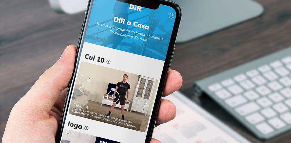 """DiR presenta """"DiR en Casa"""", una plataforma con contenido fitness para consumo hogareño"""