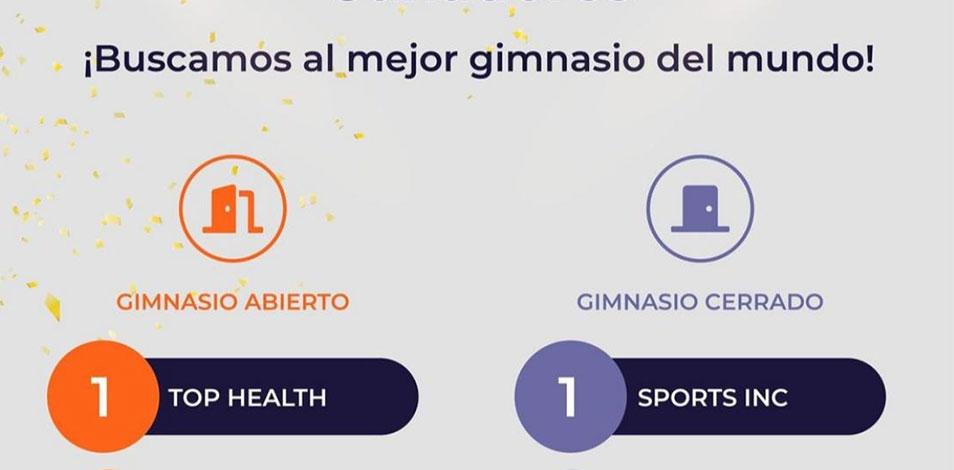 """Top Health La Victoria y Sports Inc ganaron el concurso de Trainingym y son """"los mejores gimnasios del mundo"""""""