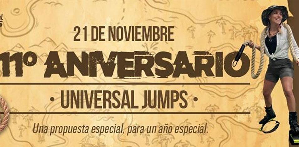 Universal Jumps festejará su 11º aniversario con un evento virtual