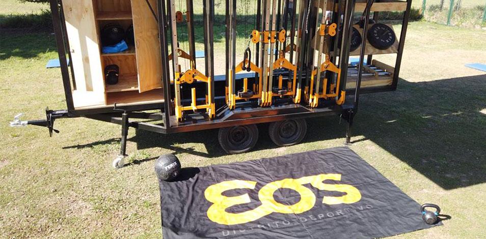 El gimnasio EOS, de Río Ceballos, pondrá a rodar en 2021 su primer Gym Truck