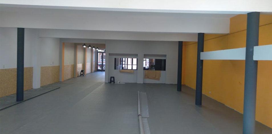 En Olavarría, Julián Etchegaray traslada su gimnasio a un espacio de 300 m2