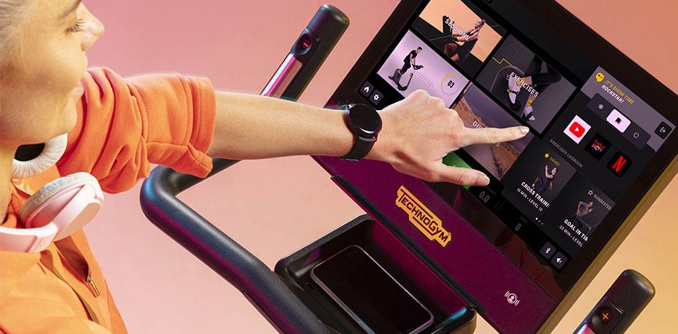 La compañía italiana Technogym presenta su nueva línea EXCITE de equipamiento cardiovascular
