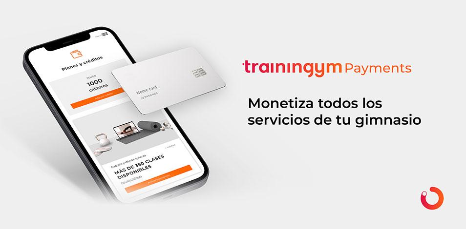 Trainingym acaba de presentar su plataforma de pagos