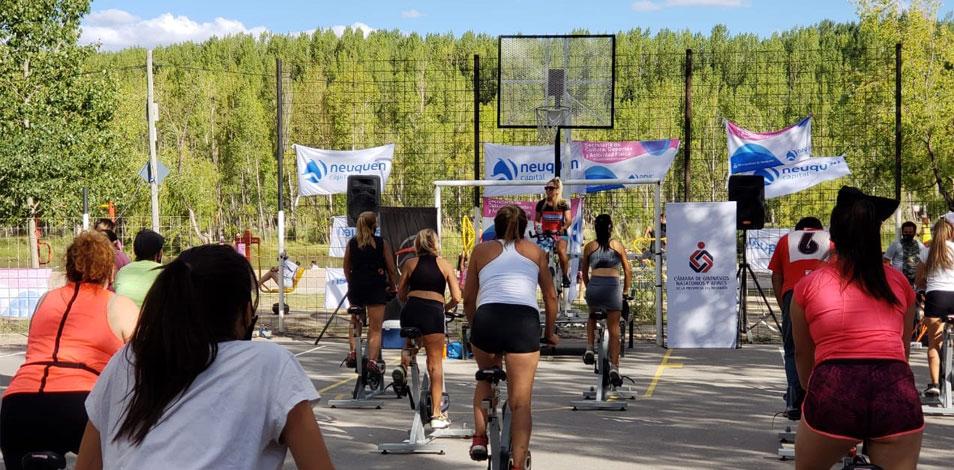 """La Cámara de Gimnasios de Neuquén lleva adelante el programa """"Elijo Activarme"""" en conjunto con Municipio"""