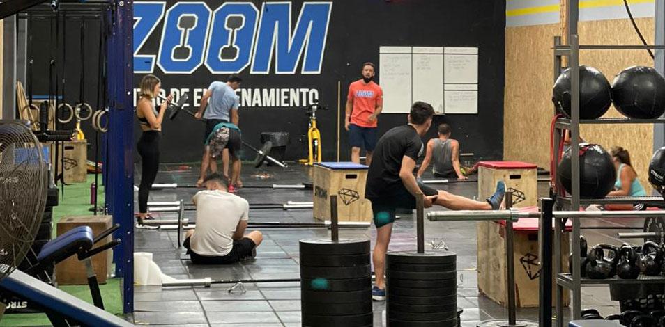 Después de once meses y un proceso de reinvención, el gimnasio Zoom reabrió sus puertas en Caseros