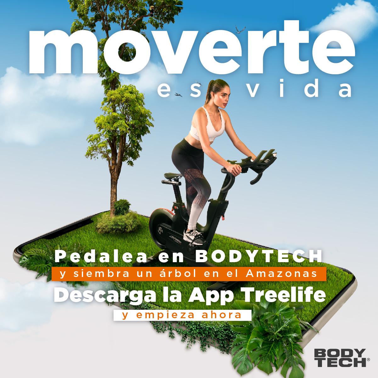 Bodytech establece una alianza con Treelife para sembrar árboles en el Amazonas colombiano