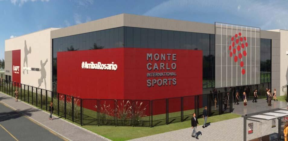 En agosto, abrirá en Rosario el complejo deportivo Club Monte Carlo
