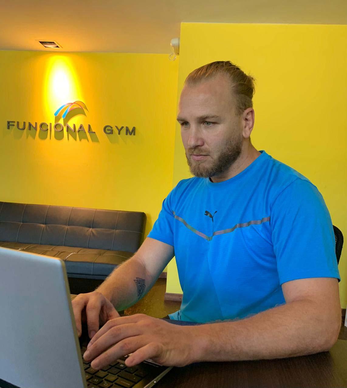 El estudio Funcional Gym se reconvirtió a un modelo 100% digital