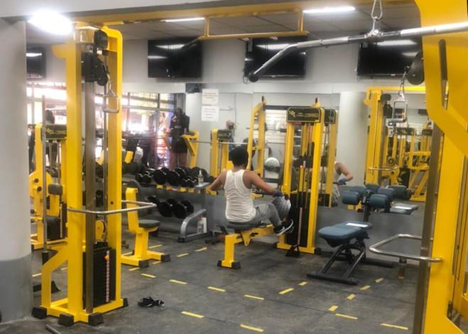 El gimnasio Área Fitness, de Lomas de Zamora, renovó su equipamiento