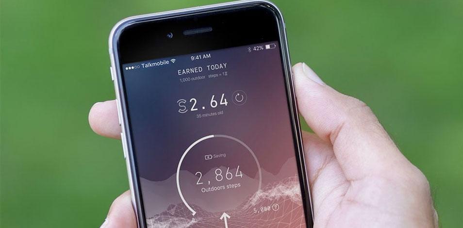 Se presentó Sweatcoin, una app que les paga a sus usuarios por caminar