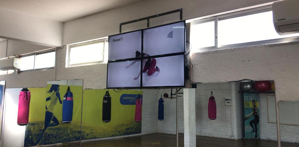 Un gimnasio de Canelones ofrece un modelo híbrido de clases