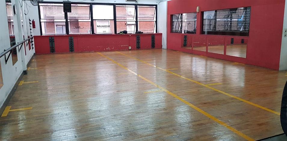 El gimnasio porteño Signum Fitness sufrió un incendio