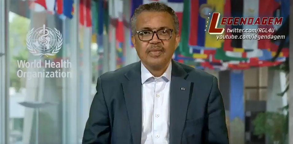 """""""No ignoren a la actividad física y los deportes"""", dijo Tedros Adhanom"""