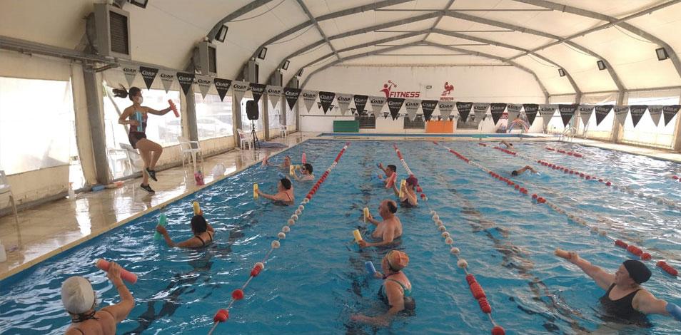 Luzuriaga Fitness Club obtuvo la concesión de un natatorio en Haedo