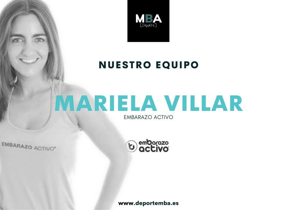 Mariela Villar será ponente de la primera edición de Deporte MBA