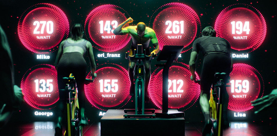 Technogym presenta una nueva experiencia de ciclismo indoor en grupo