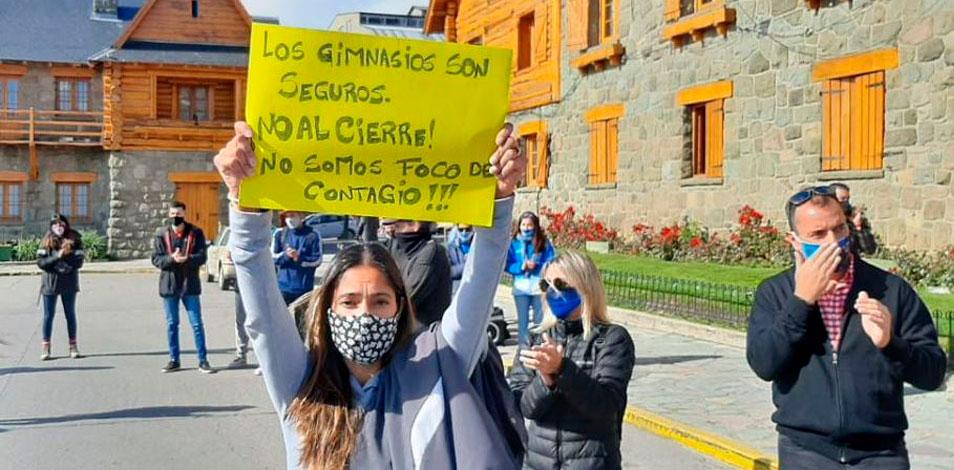 En Bariloche, los gimnasios presentaron un amparo para poder reabrir
