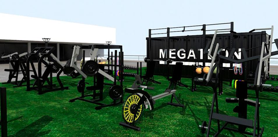 Megatlon abrirá su segunda sede outdoor en la terraza del Paseo Alcorta