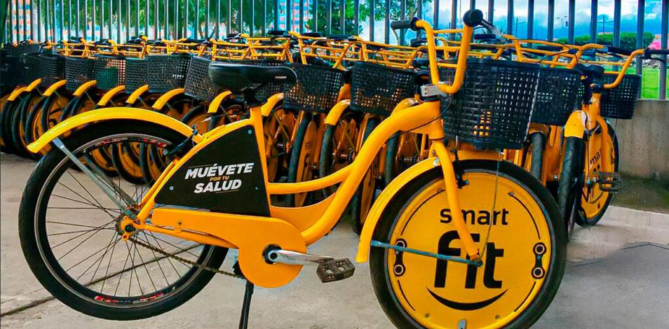 Smart Fit Colombia promueve el uso de bicicletas en Bogotá