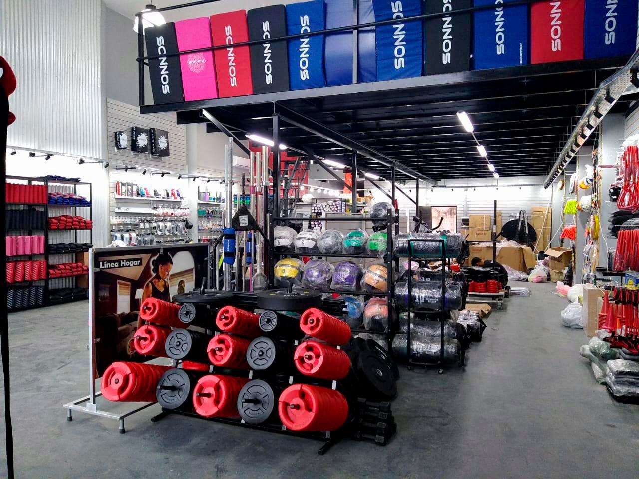 Sonnos inauguró una tienda de fitness en Canning