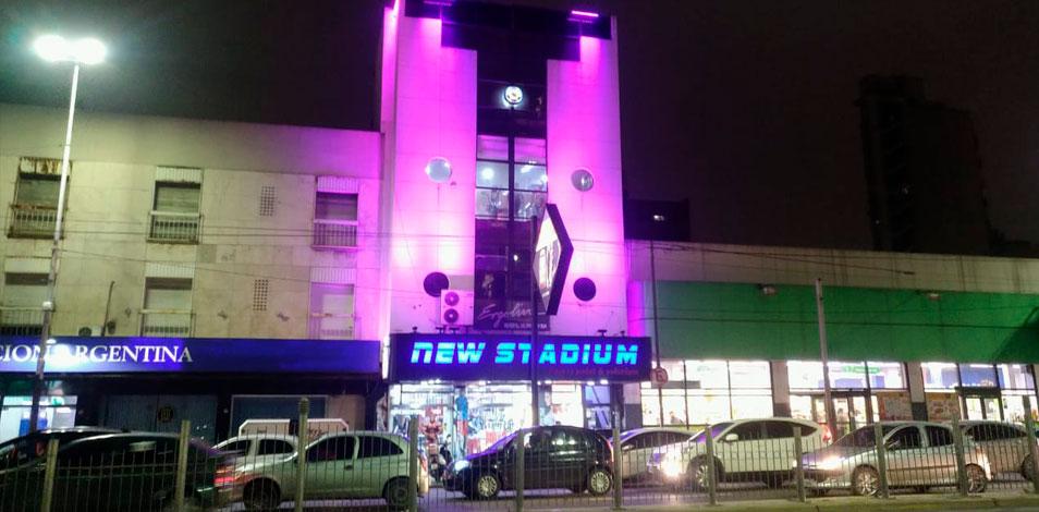 New Stadium, de Lanús, acondicionó una terraza de 400m2 para clases outdoor